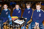 Maire O'Connor, Jack McCarthy, Fionn McDonagh, Eoin O'Flaherty from Ardfert National School attending the annual Noreen Lynch Credit Union Quiz in the Brandon Hotel on Sunday last.