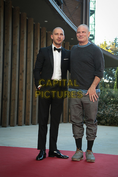 Shia Labeouf, Dito Montiel at the premiere of Man Down at the 2015 Venice Film Festival.<br /> September 6, 2015  Venice, Italy<br /> CAP/KA<br /> &copy;Kristina Afanasyeva/Capital Pictures