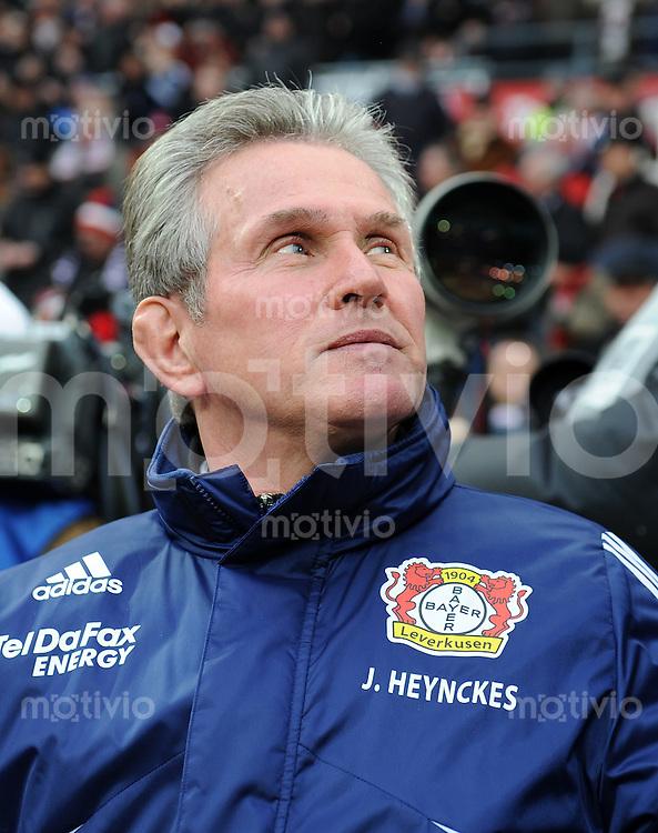 FUSSBALL  1. BUNDESLIGA   SAISON 2009/2010  18. SPIELTAG Bayer 04 Leverkusen - FSV Mainz 05                     16.10.2010   Trainer Jupp Heynckes (Leverkusen)