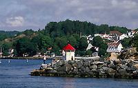 Drøbak bei Oslo, Norwegen