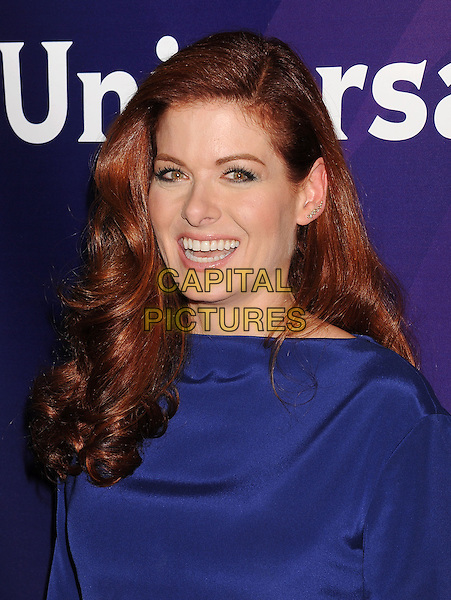 BEVERLY HILLS, CA- JULY 13: Actress Debra Messing attends the 2014 Television Critics Association Summer Press Tour - NBCUniversal - Day 1 held at the Beverly Hilton Hotel on July 13, 2014 in Beverly Hills, California.<br /> CAP/ROT/TM<br /> &copy;Tony Michaels/Roth Stock/Capital Pictures