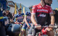 Marco Minnaard (NED/Wanty-Groupe Gobert)<br /> <br /> 69th Crit&eacute;rium du Dauphin&eacute; 2017<br /> Stage 8: Albertville &gt; Plateau de Solaison (115km)