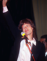 Mick Jagger 1985<br /> Photo By John Barrett/PHOTOlink.net