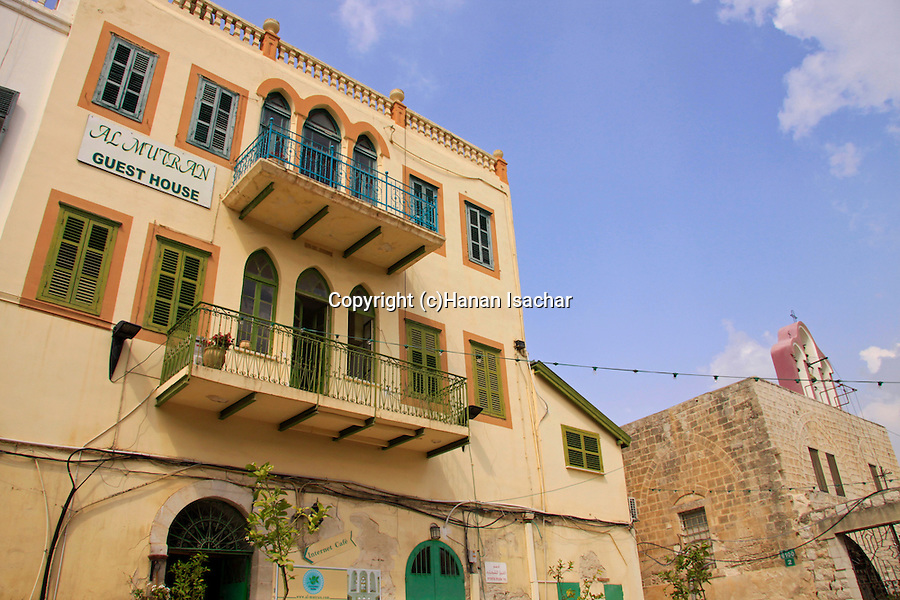 Israel, Lower Galilee, Al Mutran Guest House in Nazareth