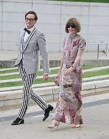 NEW YORK, NY June  04, 2018:Hamish Bowles, Anna Wintour attend2018 CFDA Fashion Awards at the Brooklyn Museum in Brooklyn New York. June 04, 2018 <br /> CAP/MPI/RW<br /> &copy;RW/MPI/Capital Pictures