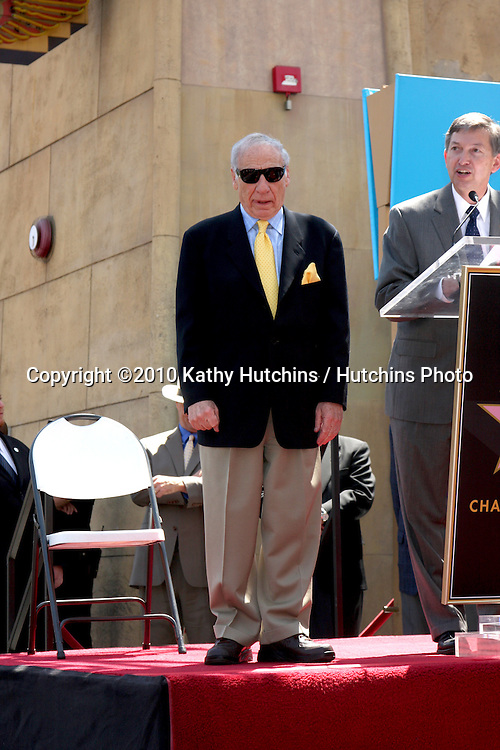 Mel Brooks.Mel Brooks receives a star on the Hollywood of Fame.Egyptian Theater.Los Angeles, CA.April 23, 2010.©2010 Kathy Hutchins / Hutchins Photo...
