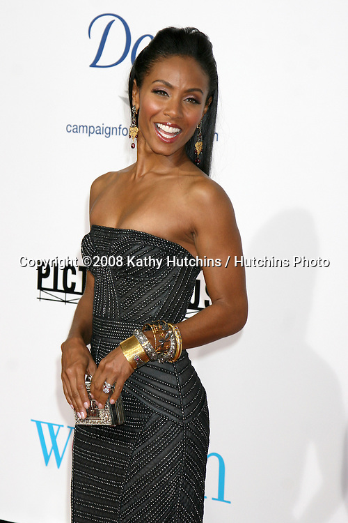 """Jada Pinkett Smith    arriving at the premiere of """"The Women"""" at Mann's Village Theater in Westwood,CA on.September 4, 2008.©2008 Kathy Hutchins / Hutchins Photo...."""