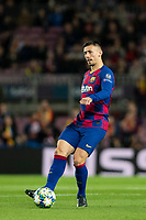 5th November 2019; Camp Nou, Barcelona, Catalonia, Spain; UEFA Champions League Football, Barcelona versus Slavia Prague; Clement Lenglet during round 4 of UEFA Champions League match against Slavia Praga - Editorial Use