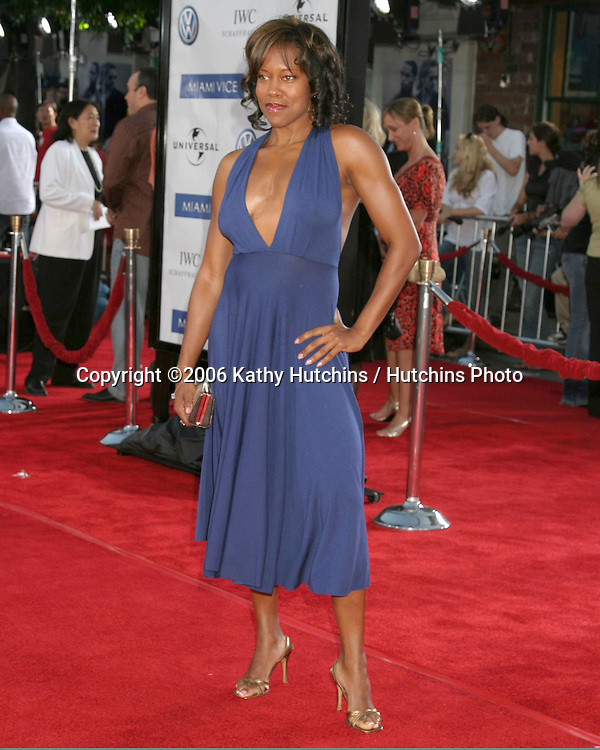 "Regina King.""Miami Vice"" Premiere.Mann's Village Theater.Westwood, CA.July 20, 2006.©2006 Kathy Hutchins / Hutchins Photo...."