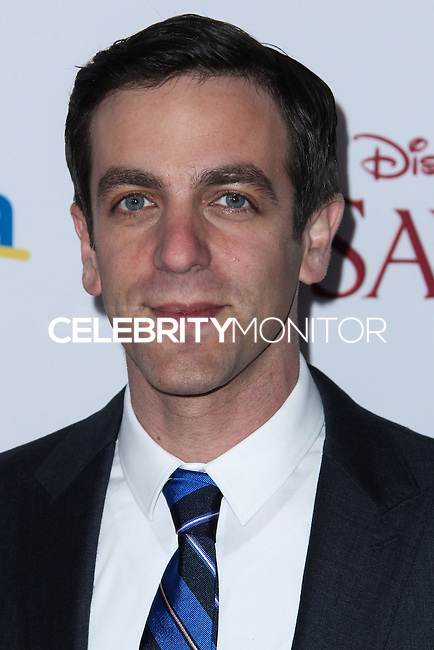 "BURBANK, CA - DECEMBER 09: B.J. Novak arriving at the U.S. Premiere Of Disney's ""Saving Mr. Banks"" held at Walt Disney Studios on December 9, 2013 in Burbank, California. (Photo by Xavier Collin/Celebrity Monitor)"