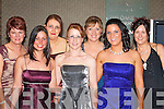 Beautiful ladies sparkling at the Kingdom Hunt ball in the Killarney Oaks Hotel Saturday night were l-r: Kathleen Morris Killorglin, Joanne McGrath Tralee, Helena Kelleher Killorglin, Laura Cahill Rathmore, Jennifer Egan Glenbeigh, Leanne Riordan Ardfert and Catriona Moriarty Killorglin .   Copyright Kerry's Eye 2008