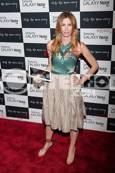 Carole Radziwill attends the Samsung Galaxy Note 10.1 Launch Event in New York City, August 15, 2012. © Diego Corredor/MediaPunch Inc. /NortePhoto.com<br />