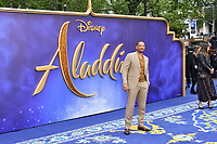 Will Smith attends live-action remake of the hit Disney animated film Aladdin on 9th May 2019 in London, England, UK.<br /> <br /> <br /> CAP/JOR<br /> &copy;JOR/Capital Pictures