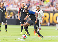 Glendale, AZ - Saturday June 25, 2016: Gyasi Zerdes during a Copa America Centenario third place match match between United States (USA) and Colombia (COL) at University of Phoenix Stadium.