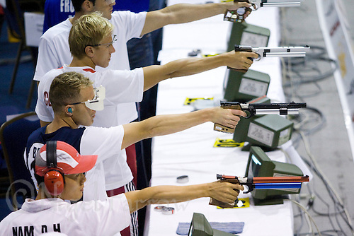 01 JUN 2008 - BUDAPEST, HUN - Eli Bremer (USA) - Modern Pentathlon World Championships. (PHOTO (C) NIGEL FARROW)