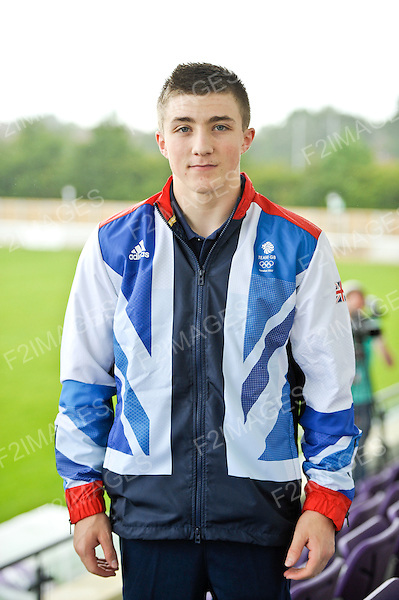 GB Gymnastics Team Announcement Loughborough University 4.7.12.Sam Oldham