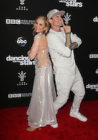 "Los Angeles, CA - NOVEMBER 22: Maureen McCormick, Vanilla Ice, At ABC's ""Dancing With The Stars"" Season 23 Finale At The Grove, California on November 22, 2016. Credit: Faye Sadou/MediaPunch"