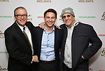 Michael J. Cuccione, Jonathan Tessero and Danny Aiello attends the Broadway Opening Night after party for  'Home for the Holidays - The Broadway Concert Celebration' at the Copacabana in New York City.