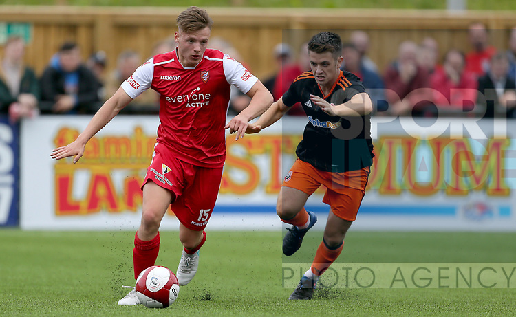 Oliver Greaves of Sheffield Utd during the pre season match at the Flamingo Land Stadium, Scarborough. Picture date 15th July 2017. Picture credit should read: Richard Sellers/Sportimage