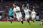 England's Danny Cipriani scoring with this first touch of the ball - RBS 6 Nations - England vs Italy - Twickenham Stadium - London - 14/02/2015 - Pic Charlie Forgham-Bailey/Sportimage