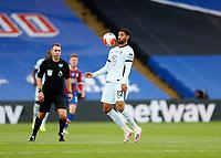 7th July 2020; Selhurst Park, London, England; English Premier League Football, Crystal Palace versus Chelsea; Ruben Loftus-Cheek of Chelsea chests the ball down