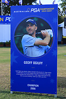 during the Preview of the Australian PGA Championship at  RACV Royal Pines Resort, Gold Coast, Queensland, Australia. 17/12/2019.<br /> Picture Thos Caffrey / Golffile.ie<br /> <br /> All photo usage must carry mandatory copyright credit (© Golffile | Thos Caffrey)