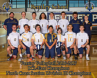 Bentley Boys Varsity Volleyball NCS Champions Photo SAMPLE