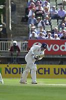 31/05/2002.Sport -Cricket - 2nd NPower Test -Second Day.England vs Sri Lanka.Marcus Trescothick [Mandatory Credit Peter Spurrier:Intersport Images]