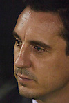Gary Neville head coach of Valencia CF looks on prior to the game  - UEFA Champions League Group H - Valencia CF vs Olympique Lyonnais - Mestalla Stadium - Valencia- Spain - 09th December 2015 - Pic David Aliaga/Sportimage