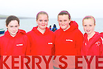 Sneem u14 team at Competing at the Ballinskelligs regatta on Sunday was l-r: Irene O'Sullivan, Elaine Murphy, Roisin Murphy and Caoimhe Kavanagh .   Copyright Kerry's Eye 2008