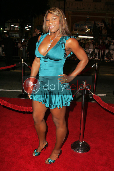 Serena Williams<br />at the world premiere of &quot;Get Rich Or Die Tryin&quot;. Graumans Chinese Theatre, Hollywood, CA. 11-02-05<br />Dave Edwards/DailyCeleb.com 818-249-4998