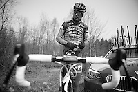 Paris-Roubaix 2013 RECON at Bois de Wallers-Arenberg.<br />