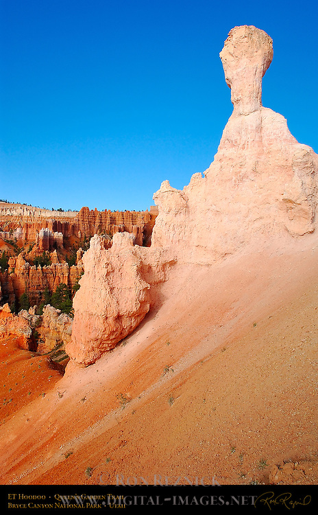 ET Hoodoo, Queen's Garden Trail, Bryce Canyon National Park, Utah