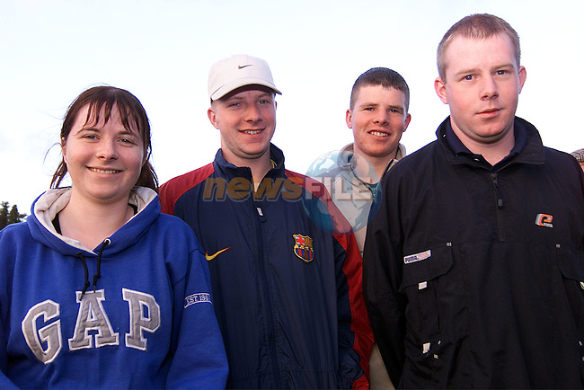 Ashling, Emmet, Thomas and John Martin at the Meath training session at Dunsany..Picture: Paul Mohan/Newsfile