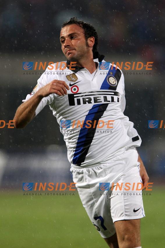 """Giampaolo Pazzini Inter..Catania 15/10/2011 Stadio """"Massimino""""..Football / Calcio Serie A 2011/2012..Catania vs Inter..Foto Paolo Nucci Insidefoto"""