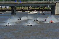 Kris Shepard, (#46) (center) leads the field. (SST-120 class)