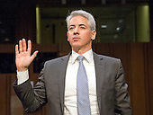 "William A. Ackman,  Founder And Chief Executive Officer, Director, Pershing Square Capitol Management LP, Valeant Pharmaceuticals International, Inc.; is sworn-in to give testimony before the United States Senate Committee on Aging hearing on ""Valeant Pharmaceuticals' Business Model: the Repercussions for Patients and the Health Care System"" on Capitol Hill in Washington, DC on Wednesday, April 27, 2016.  Valeant raised the price of four life-saving drugs: Isuprel by about 720 percent; Nitropress by 310 percent; Cuprimine by 5,878 percent, and Syprine by 3,162 percent after acquiring them in 2015. It is the high prices that are now at the heart of two congressional probes.<br /> Credit: Ron Sachs / CNP"