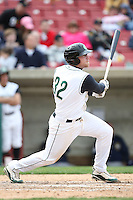April 11 2010: Chris Affinito of the Kane County Cougars at Elfstrom Stadium in Geneva, IL. The Cougars are the Low A affiliate of the Oakland A's. Photo by: Chris Proctor/Four Seam Images