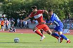 18.07.2018, Voehlinstadion, Illertissen, GER, FSP, FV Illertissen - VfB Stuttgart, im Bild Berkay &Ouml;zcan / Oezcan (Stuttgart #31), Burak Coban (Illertissen, #25)<br /> <br /> Foto &copy; nordphoto / Hafner