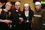 Susan Higginbotham, Colin Donoghue, Traci Tiernan and Fabrice Dowling at the Father Ted Night in McHughs in aid of Drogheda Animal Rescue...Photo NEWSFILE/Jenny Matthews.(Photo credit should read Jenny Matthews/NEWSFILE)....This Picture has been sent you under the condtions enclosed by:.Newsfile Ltd..The Studio,.Millmount Abbey,.Drogheda,.Co Meath..Ireland..Tel: +353(0)41-9871240.Fax: +353(0)41-9871260.GSM: +353(0)86-2500958.email: pictures@newsfile.ie.www.newsfile.ie.FTP: 193.120.102.198.