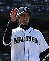 Hisashi Iwakuma (Mariners),<br /> JUNE 5, 2013 - MLB :<br /> Hisashi Iwakuma of the Seattle Mariners during the baseball game against the Chicago White Sox at Safeco Field in Seattle, Washington, United States. (Photo by AFLO)