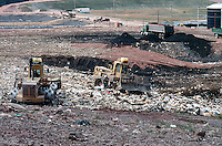 LANDFILL<br /> Waste Disposal Truck &amp; Bulldozers<br /> Sullivan County, NY