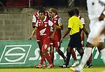 Envigado- Envigado F-C e Independiente Santa Fe, empataron a dos goles, en el partido correspondiente a la décima jornada del Torneo Clausura 2014, desarrollado el 21 de septiembre en el estadio Polideportivo Sur.