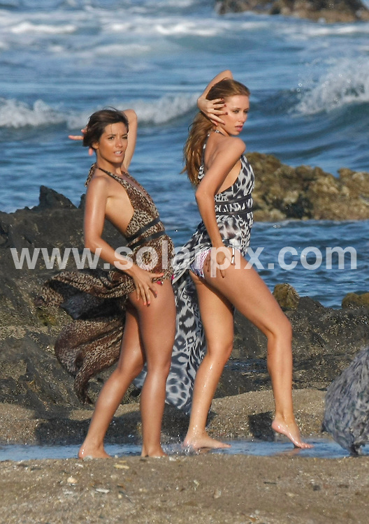 "**ALL-ROUND  PICTURES FROM SOLARPIX.COM**.**WORLDWIDE RIGHTS**.Pictures show girl group ""The Saturdays"" shooting the video for their new single in Malaga on the Costa del Sol, Spain. .This pic:  The Saturdays shooting new music video in Malaga, Spain..L-R:    Frankie Sandford & Una Healy.JOB REF:  11328   AB1       DATE:   27.05.10.**MUST CREDIT SOLARPIX.COM OR DOUBLE FEE WILL BE CHARGED**.**MUST AGREE FEE BEFORE ONLINE USAGE**.**CALL US ON: +34 952 811 768 or LOW RATE FROM UK 0844 617 7637**"