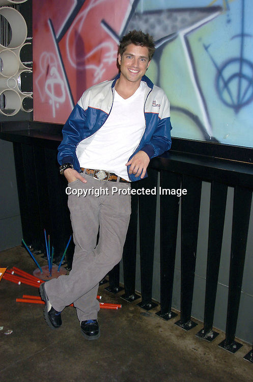 Scott Bailey ..at the P and G Party for The Hot Men of As The World Turns and Guiding Light on April 21, 2005 at Crobar. ..The Party was planned by David Turtura and was filmed for his TV Show on The Discovery Channel. Some of the Soap Stars helped set up the party.           Photo by Robin Platzer, Twin Images