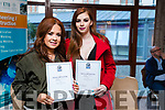 Fiona Conway and Ailish Conway, who received their Nail Technology certificate at the Kerry ETB Ceremony at the Rose Hotel, Tralee on Thursday, April 6th.