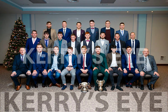 The Kerry Junior Football team at Kerry GAA awards held at The Rose Hotel, Tralee on Saturday night last.