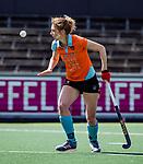 AMSTELVEEN  -  ex international  Willemijn Kuis-Bos  speelt haar laatste hoofdklasse wedstrijd.   Hoofdklasse hockey dames ,competitie, dames, Amsterdam-Groningen (9-0) .     COPYRIGHT KOEN SUYK