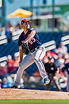 2 March 2019: Minnesota Twins pitcher Kohl Stewart on the mound during a Spring Training game against the Washington Nationals at the Ballpark of the Palm Beaches in West Palm Beach, Florida. The Twins fell to the Nationals 10-6 in Grapefruit League play. Mandatory Credit: Ed Wolfstein Photo *** RAW (NEF) Image File Available ***
