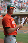 Enrique Garcia of the Miami Hurricanes vs. the Virginia Cavaliers: March 24th, 2007 at Davenport Field in Charlottesville, VA.  Photo copyright Mike Janes Photography 2007.